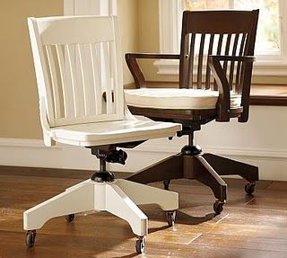 I Bought This Pottery Barn White Desk Chair For Less Than 100 At The Pottery  Barn