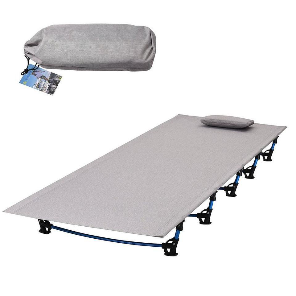 Ultralight Folding Fishing Camping Bed Sleeping Portable