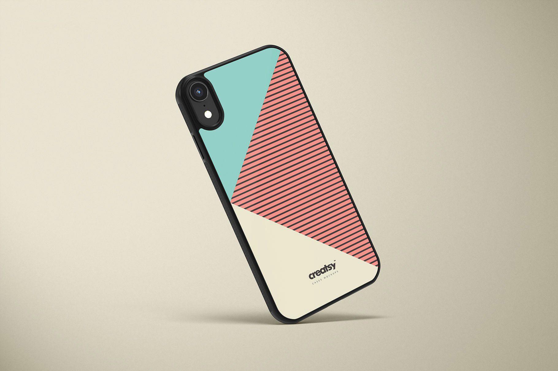 Download Free Iphone Xr Case Mockups Free Mockup Lukisan Galaksi Iphone Case