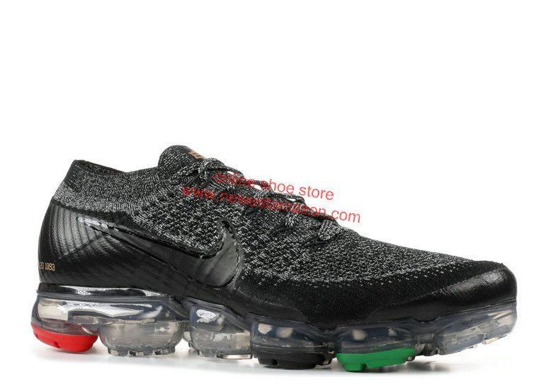 size 40 c7bf4 bff12 2018 Original Nike Air Vapormax Flyknit Bhm Black Black White Aq0924 007  Sneaker Nike Air Vapormax