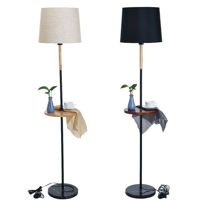 Details About Led Floor Lamp Standing Storage Reading Light Foot