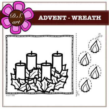 Free For Personal And Commercial Use Advent Wreath Clip Art Freebies Free