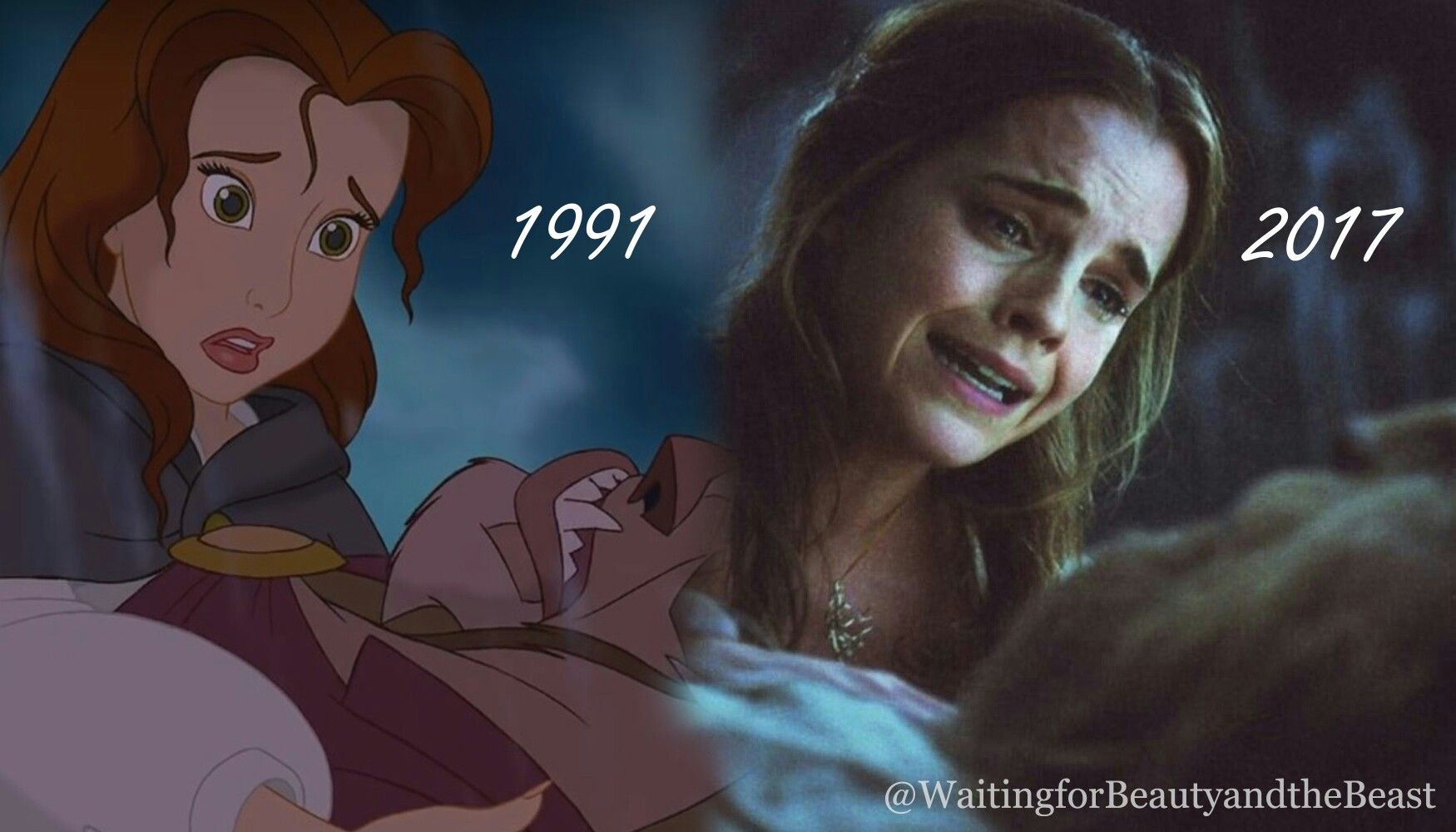 Beauty And The Beast 2017 Vs Beauty And The Beast 1991 Beauty And The Beast Movie The Beast Movie Disney Beauty And The Beast