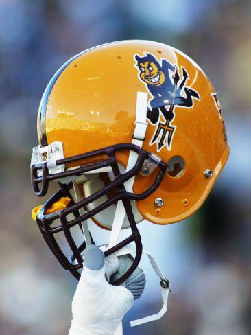 Arizona State University - Arizona State Helmet Photo  96f80e1ca