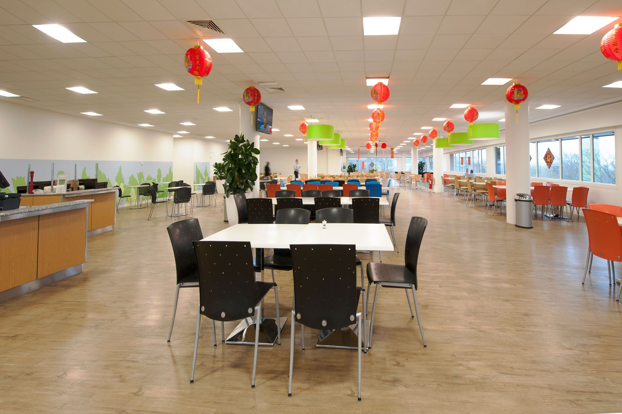 Huawei offices green park reading office design fit out project workplace optimisation 5