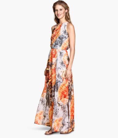 H M Langes Kleid 39,99   Clothes   Lange kleider, Kleider und H M 57371dc4ac