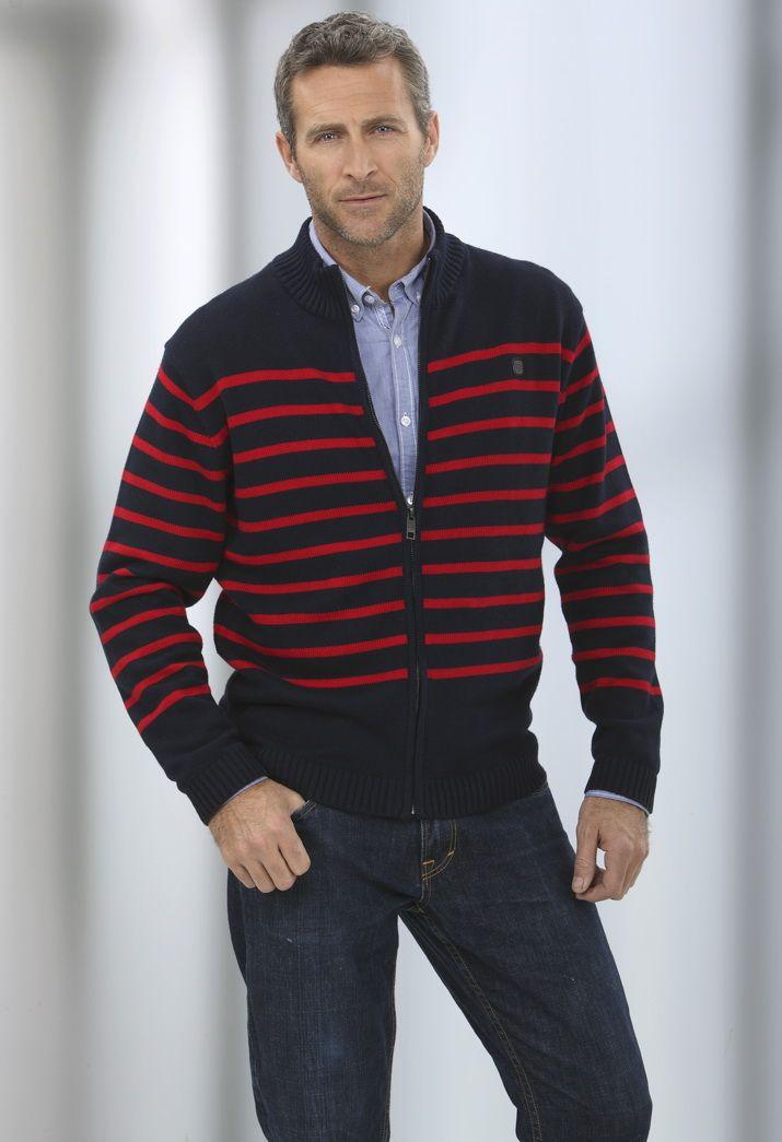 Chaqueta tricot de algodón Massana