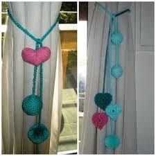 Agarraderas Para Cortinas Al Crochet Faciles Buscar Con Google - Adornos-para-cortinas