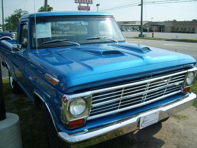 Autotrader Classics 1968 Ford F100 Truck Blue Other Automatic