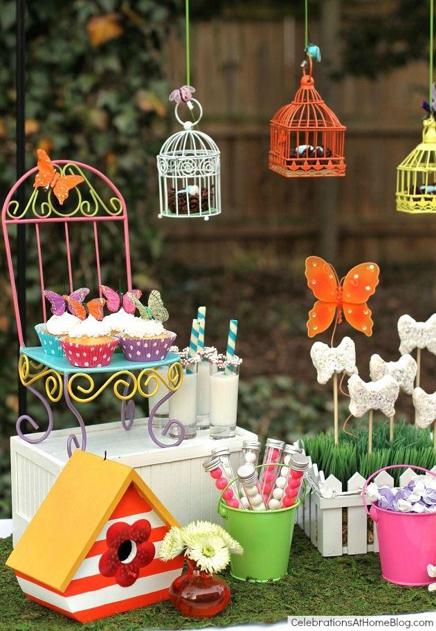 Whimsical Kids Garden Party Ideas Garden Party Birthday Kids
