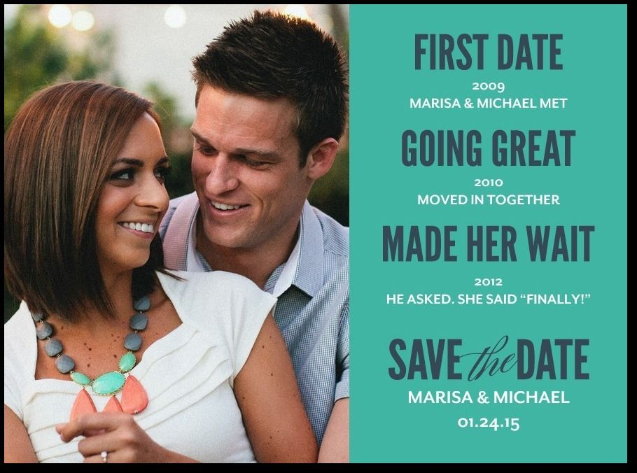 Engagement Season Save The Date