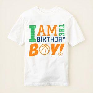 Birthday Boy Graphic Tee Childrens PlaceBirthday