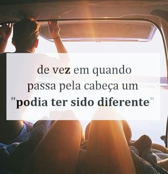 #passado#diferente