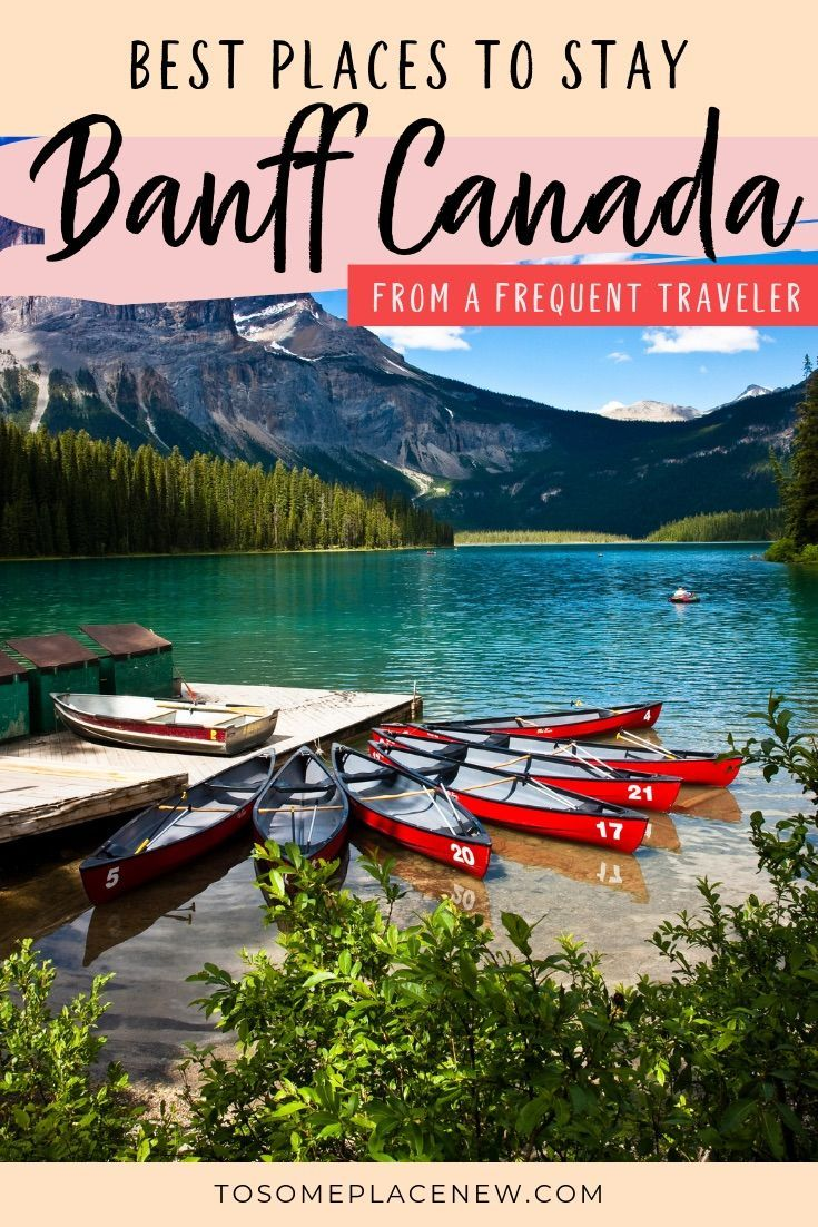Where to stay in Banff Canada | Get the Banff Canada Hotels Guide | Find out the best places to stay in Banff National Park Alberta. Check off Banff Alberta bucketlist destinations and beautiful places and explore the nearby areas of Canmore, Lake Louise, Calgary, Cochrane and Golden British Columbia. This is your ultimate where to stay in Banff national park #banff #canada #hotels
