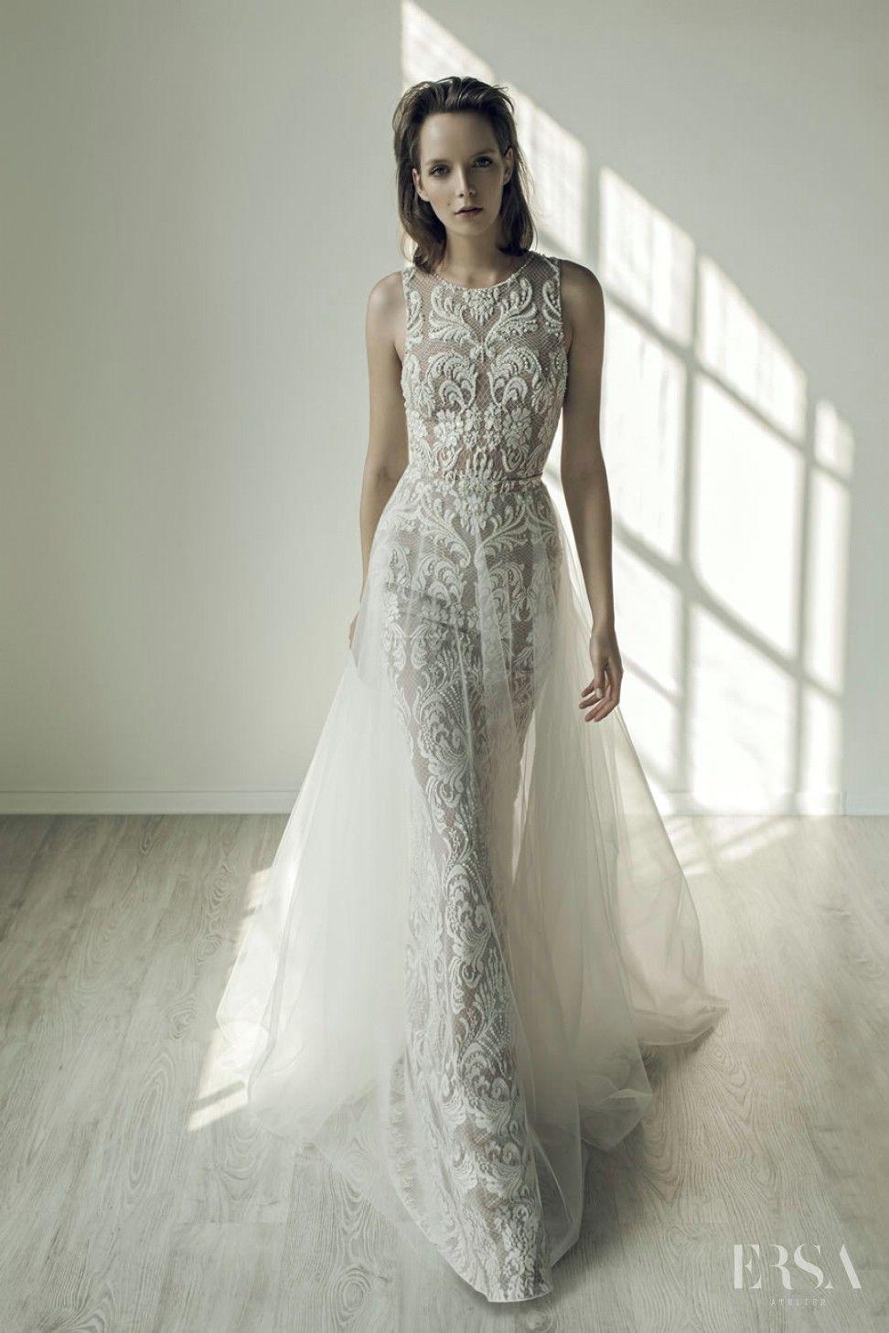 Ersa Atelier Wedding Collection Evening Dress Noelle