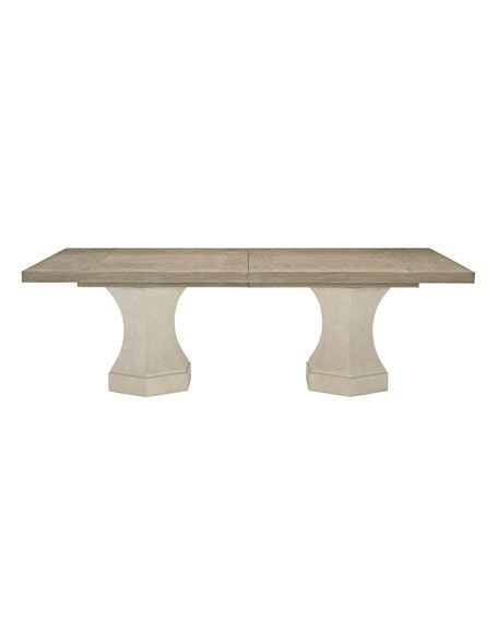 Bernhardt Santa Barbara Double Pedestal Dining Table In