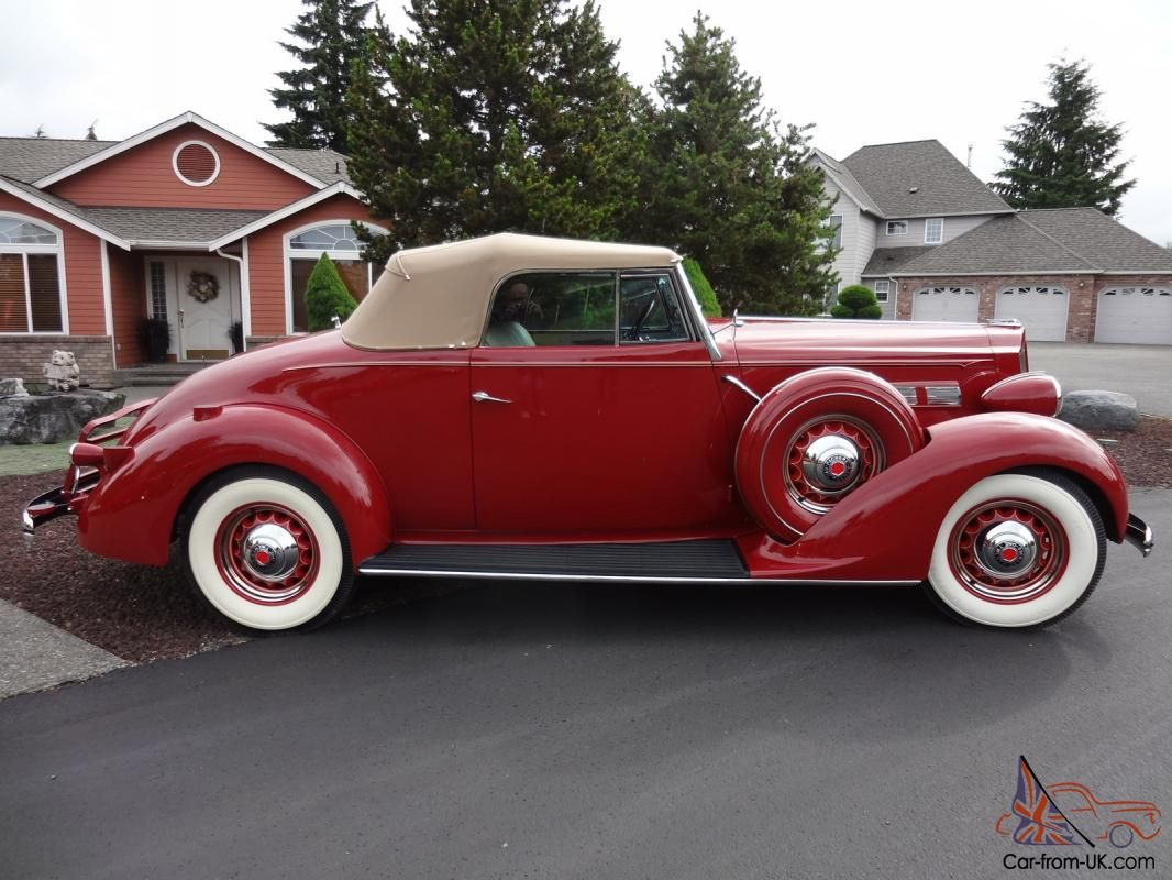 1937 Packard Model 120 Convertible Coupe Coupe Packard Convertible