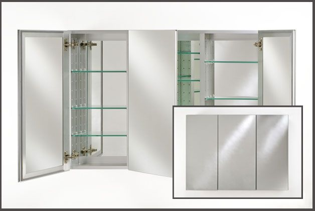 Recessed medicine cabinets - Seven tips to save space in a small bathroom ...