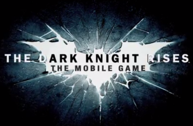 The Dark Knight Rises game released by Gameloft
