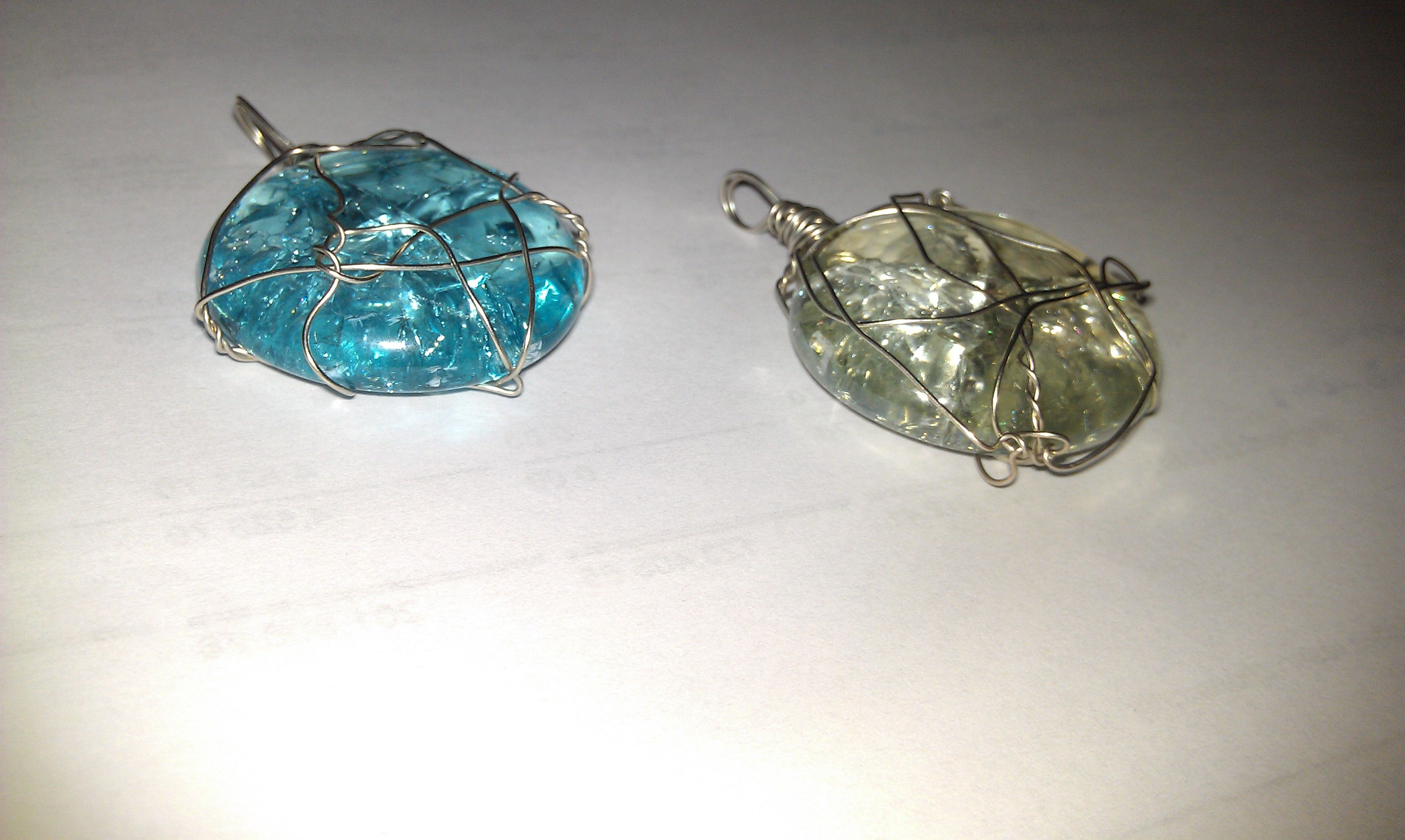 Baked marble pendants! Great for jewellery making! Just need ...
