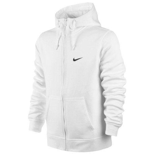 7c46ab649f57 NIKE Nike Men S Club Swoosh Full Zip Fleece Hoodie.  nike  cloth ...