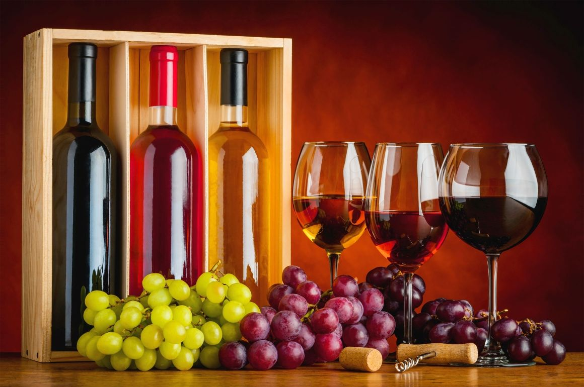 Best Hd Bottles Of Wine Background Free Download