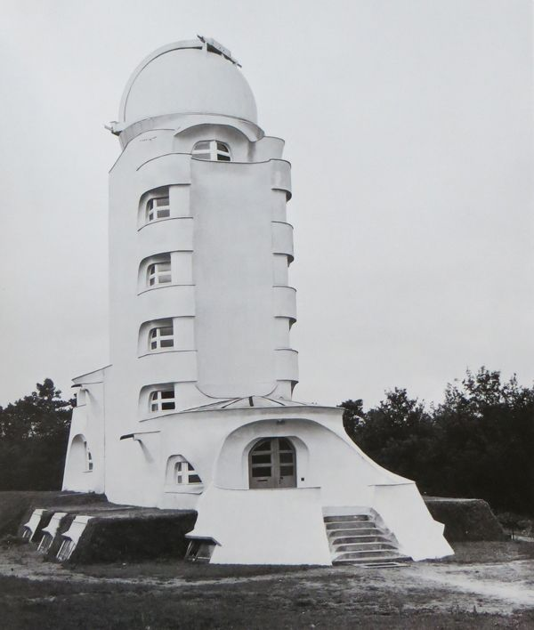 Einstein Tower, Potsdam, Germany -- Erich Mendelsohn, 1924