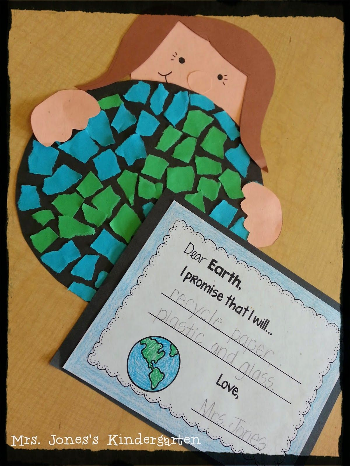Mosaic Earth Day Craftivity Mini Unit This Would Look