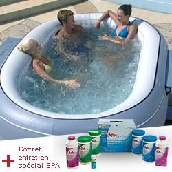 spa gonflable ovale bestway lay z
