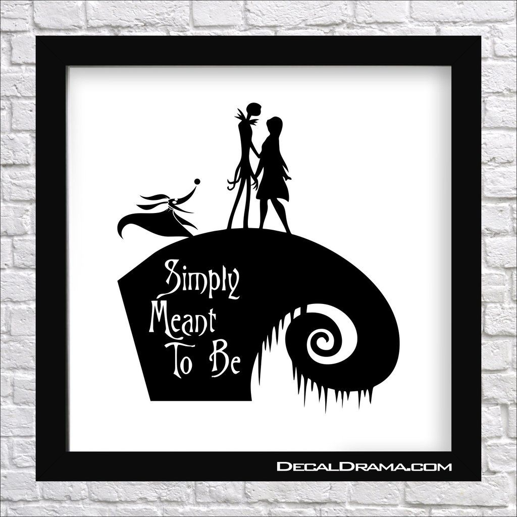 Simply Meant to Be, Nightmare Before Christmas-inspired Fan Art ...