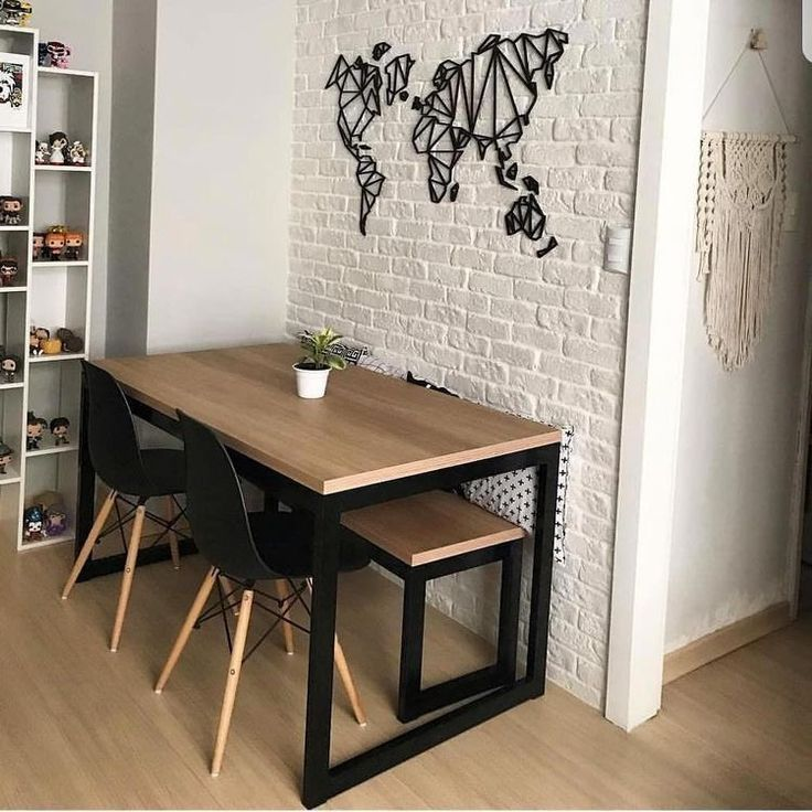 Dining Table Dining Room Kitchen Home Decoration Furniture Cabinet Living Room Dining Chair Apartment Dining Modern Dining Table Small Dining Room Decor #wooden #cabinet #for #living #room