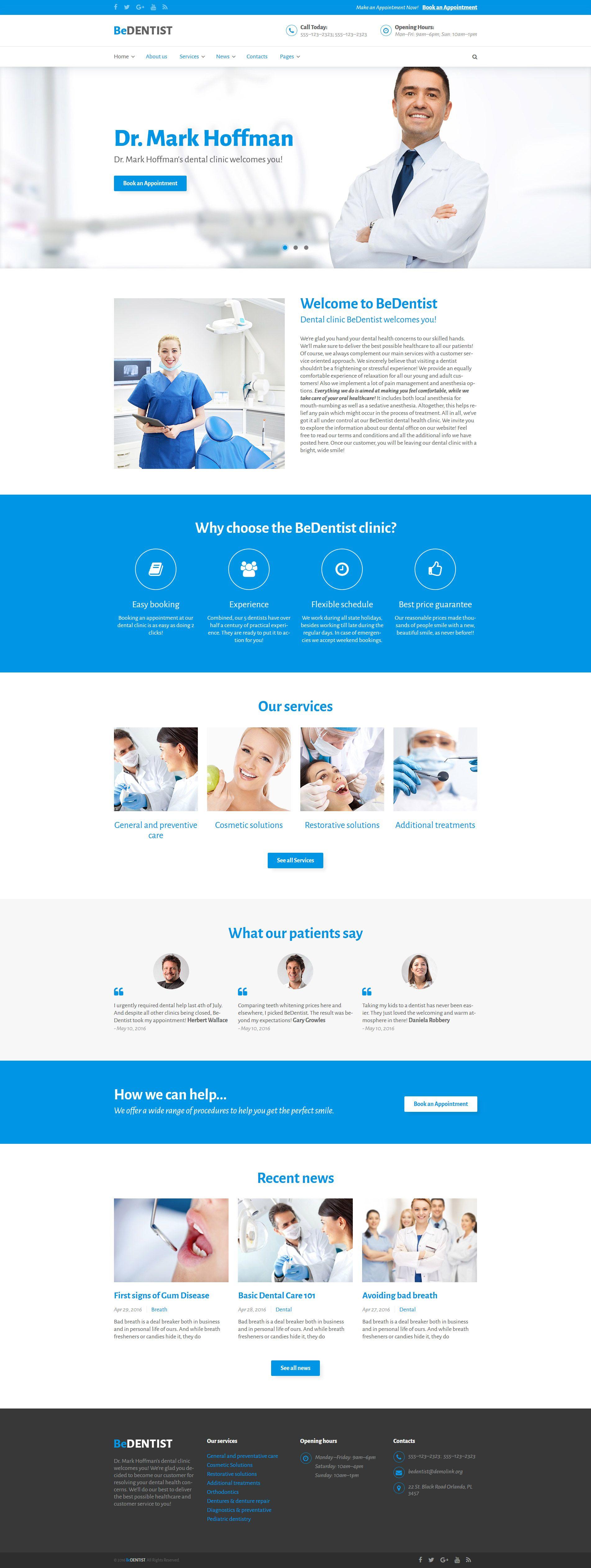 Medical WordPress Theme http://www.templatemonster.com/wordpress ...