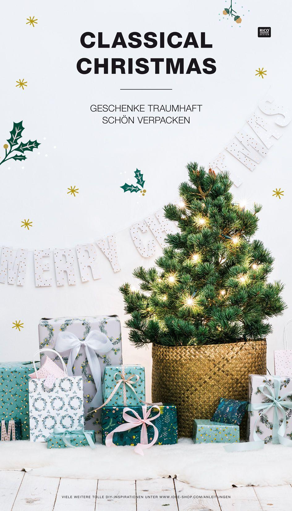 Geschenke verpacken mit unserem neuen Geschenkpapier aus der ...