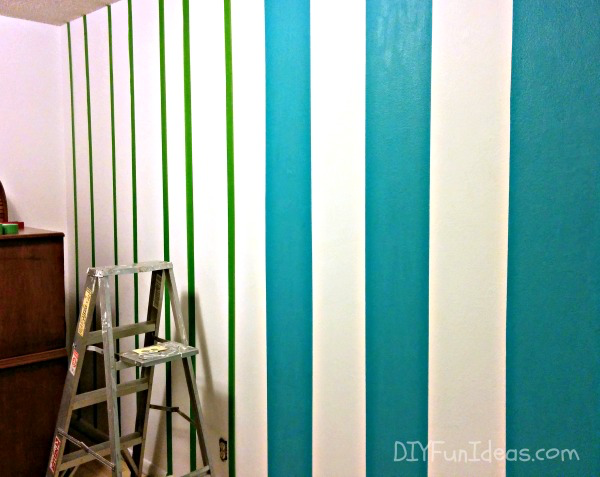 Geometric Triangle Wall Paint Design Idea With Tape Diy For Life