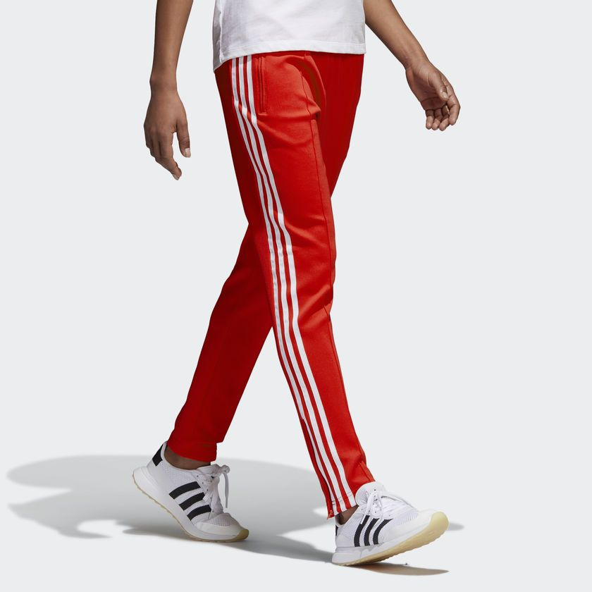 338a2d8f02 adidas SST TP - Red | adidas US | Pants | Adidas women, Athletic ...