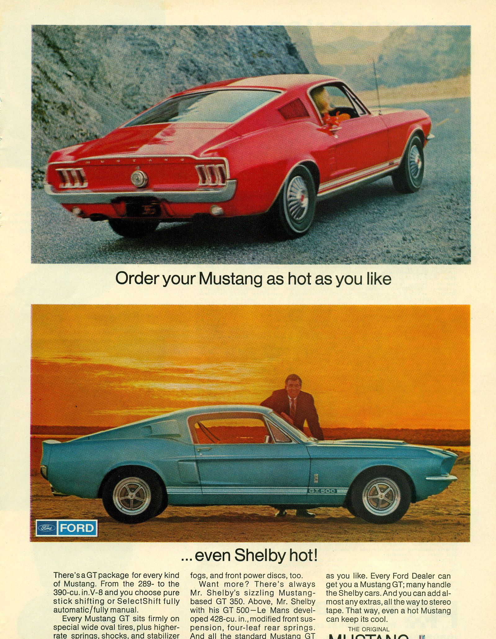 1967 Ford Mustang Gta Mustang Shelby Ford Mustang Fastback
