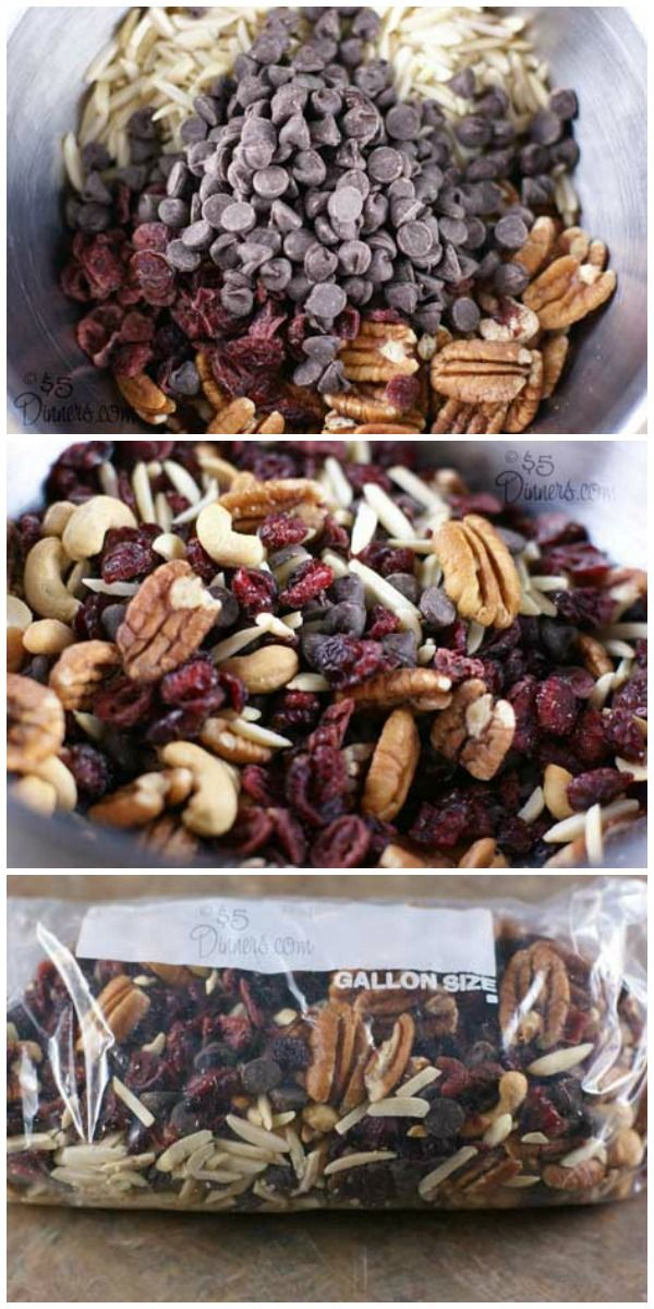 Pantry Trail Mix ~ 31 Days of Healthy Snack Recipes