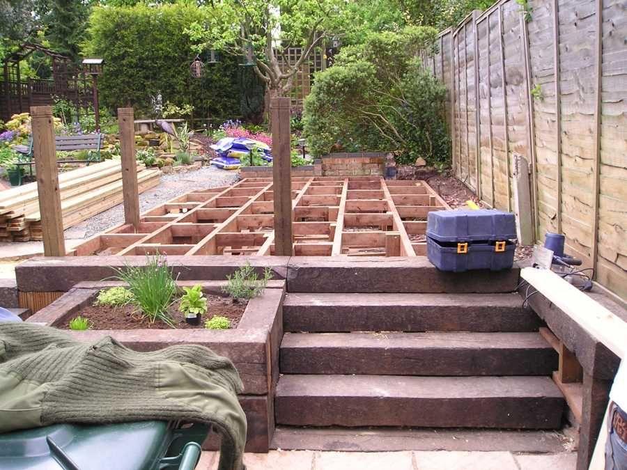 Railway Sleepers | Railway sleepers, Deck projects, Deck