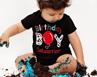 Popular items for first birthday boy on Etsy First Birthday Photos