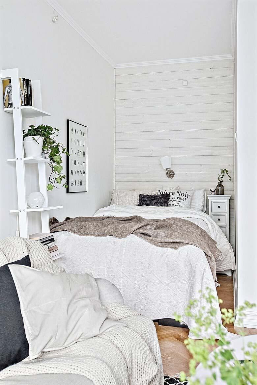 Desain Kamar Tidur Sempit Minimalis Sederhana Small Bedroom Ideas