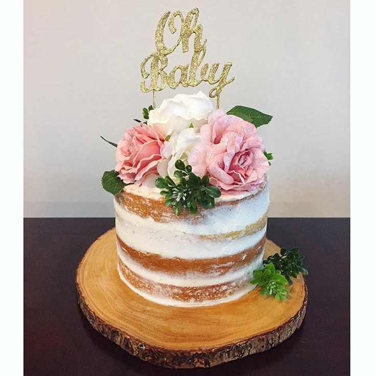 Nice Image Result For Pink And Gold Baby Shower Cake