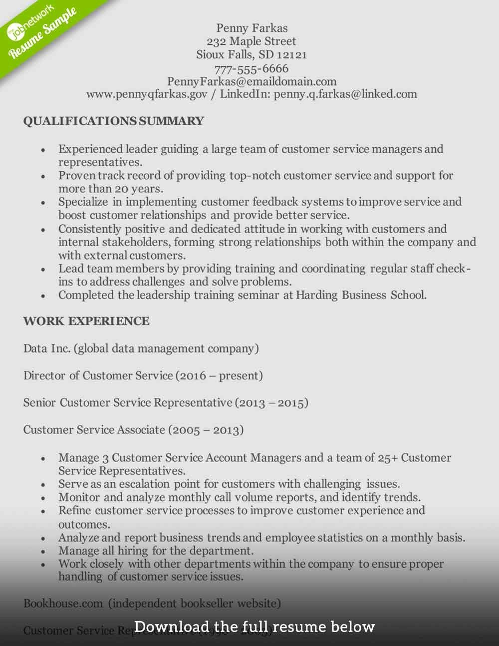 Accounting Resume Summary Of Qualifications Examples