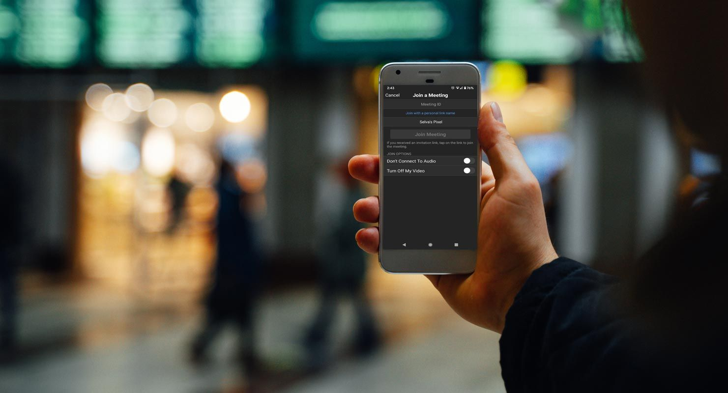 Zoom Adds Dark Mode For Android Mobiles With 5 2 0 Update Android Infotech Android App Background Dark