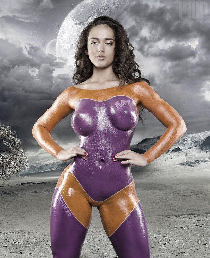 Discount Sexy Women Body Paint