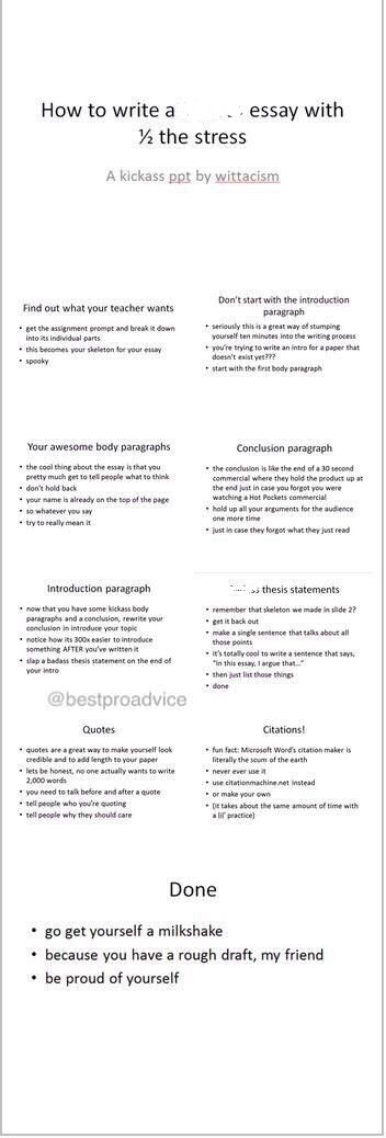 Sample Essay With Thesis Statement College Life College Hacks School Hacks College Essay Essay Writing  Tips How To Write A Good Essay For High School also Analysis And Synthesis Essay Pin By Heidi Hall On School  Essay Writing Writing College Essay How To Write A Good Proposal Essay