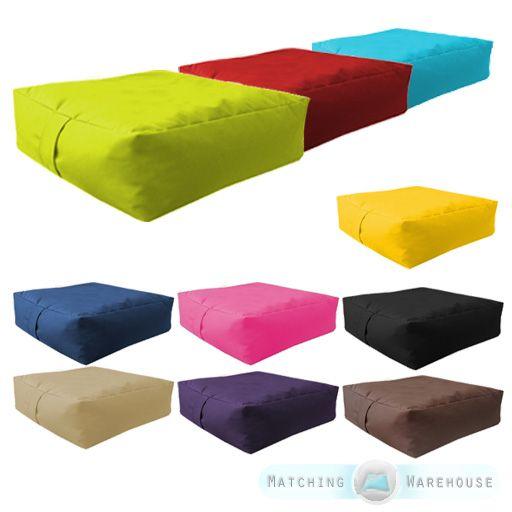 Garden Waterproof Bean Bag Slab Beanbag Outdoor Indoor Cushions Seat  Furniture A