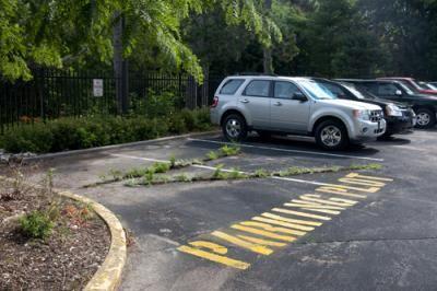 Parking Plot, fall 2011.