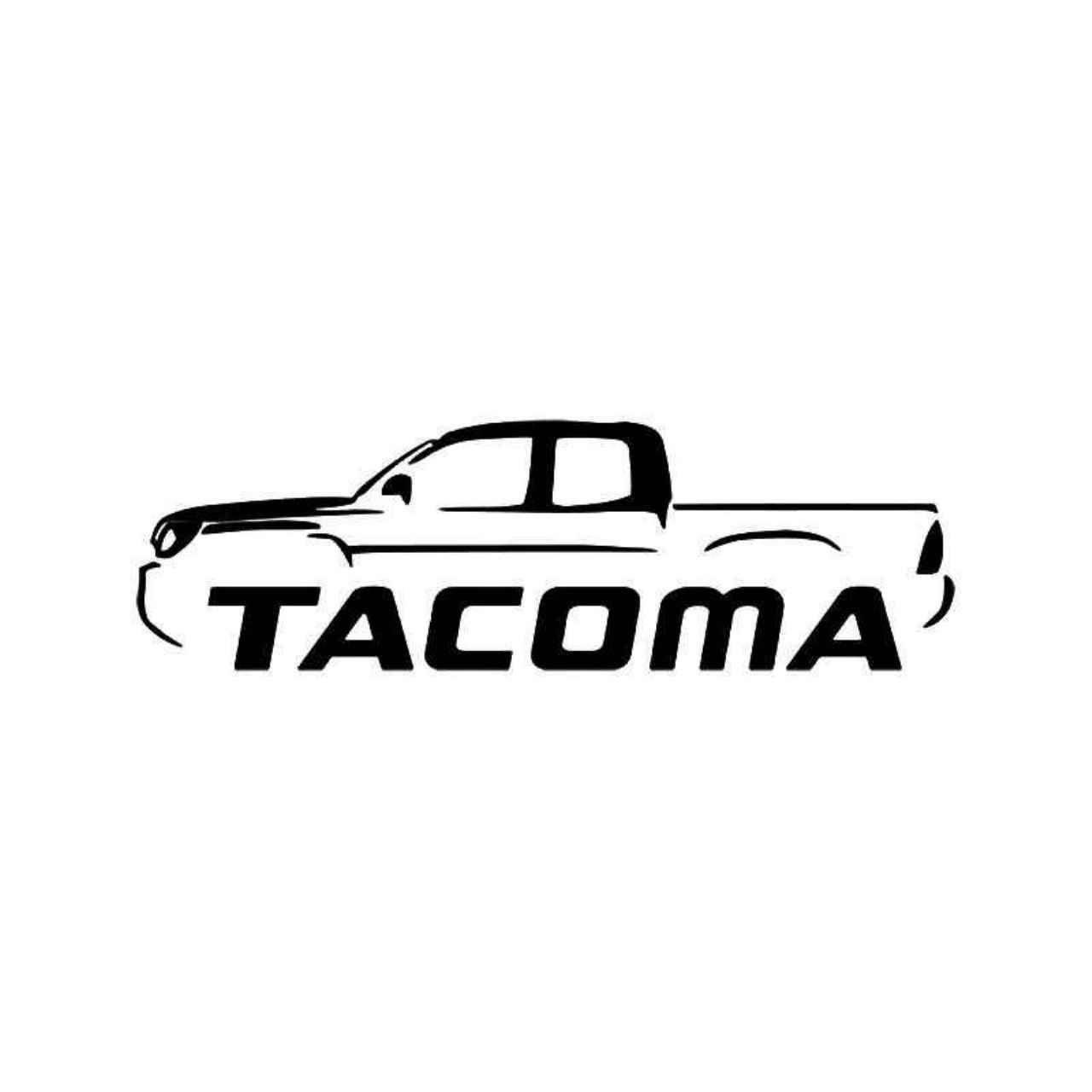 Tacoma Toyota Truck Vinyl Decal Sticker Ballzbeatz Com