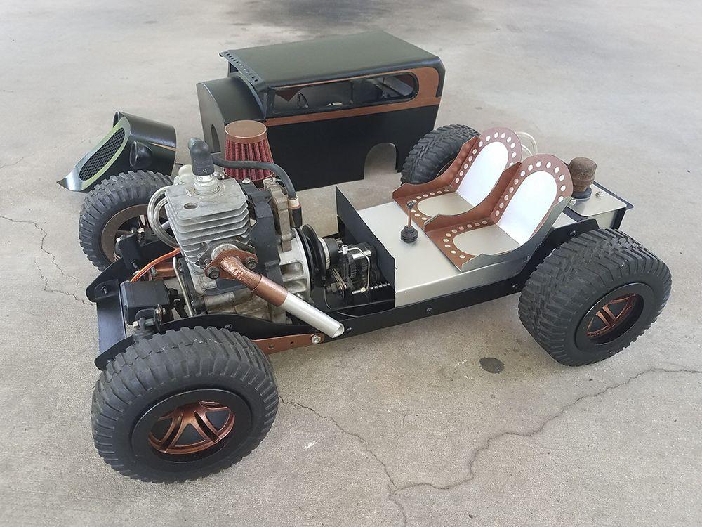 custom hot rod 1 5 scale gas powered homelite rc. Black Bedroom Furniture Sets. Home Design Ideas