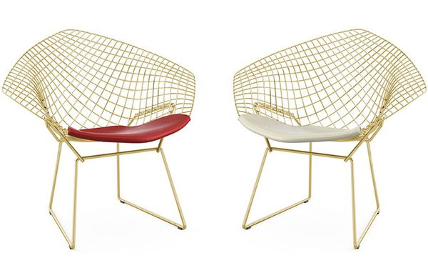 La sélection AD de pièces Bauhaus Poltrona, Cadeiras e Cores